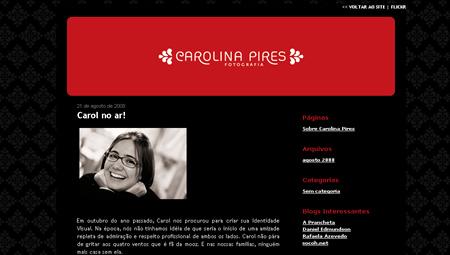 Blog Carolina Pires